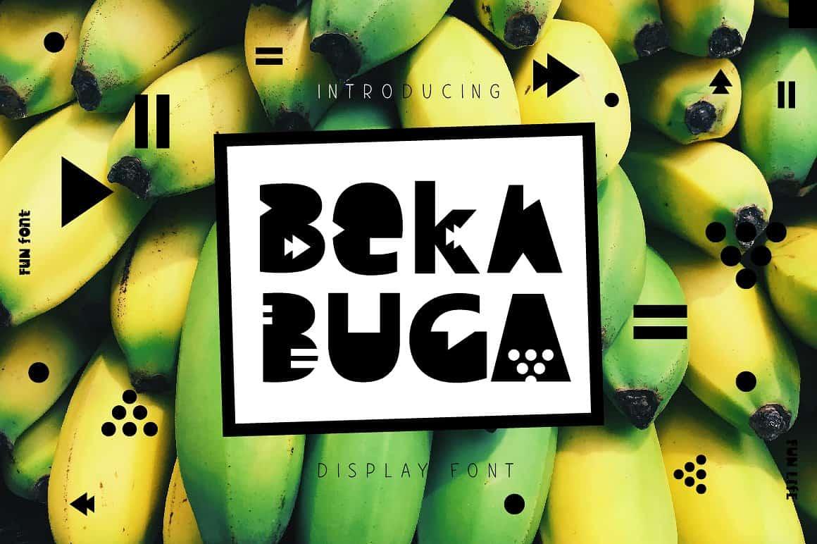 Download Bekabuga font (typeface)
