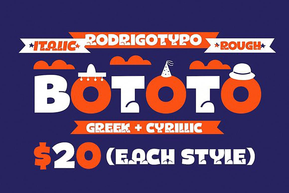 Download Bototo Family font (typeface)
