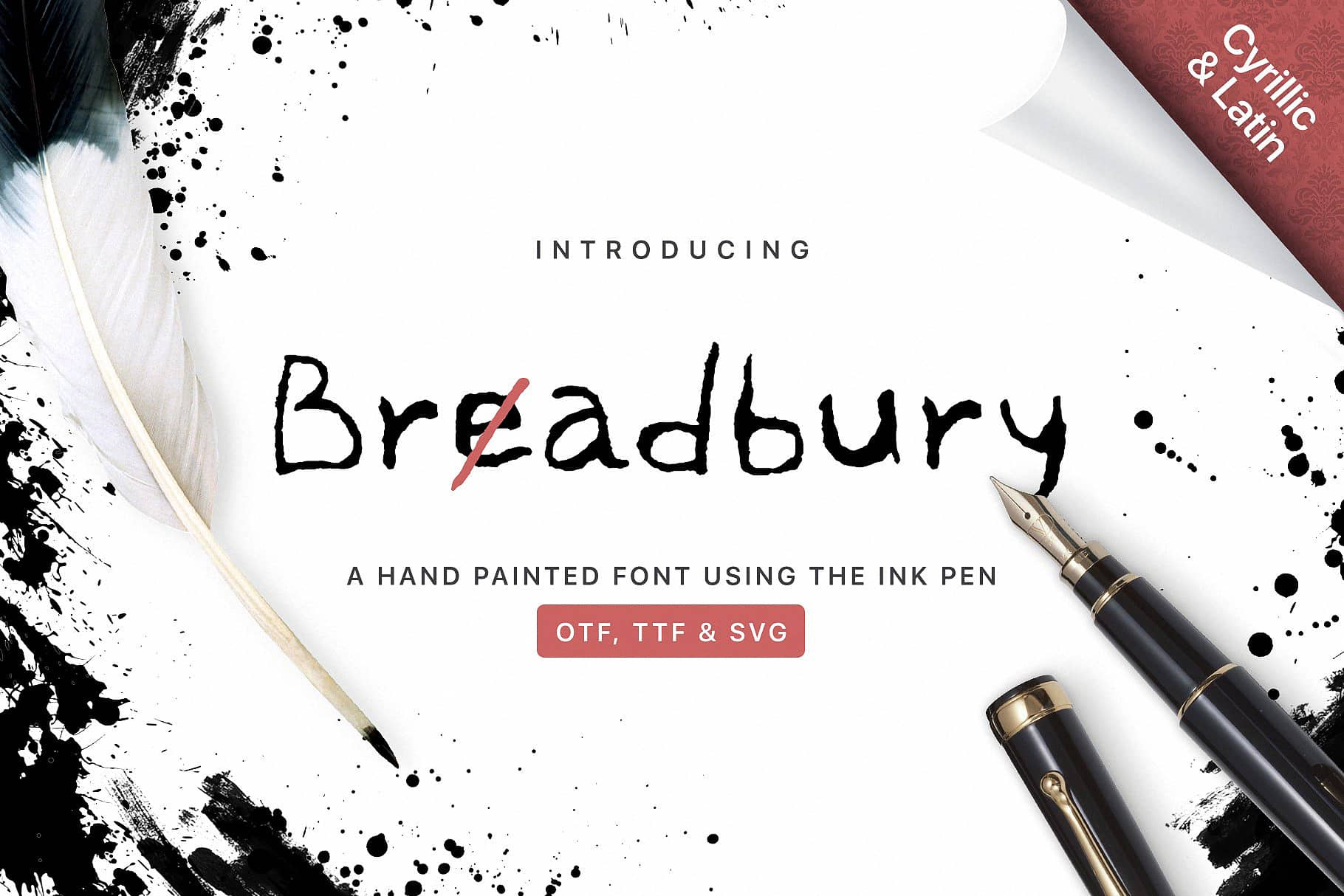 Download Bread Bury font (typeface)