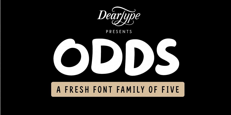 Download Odds font (typeface)