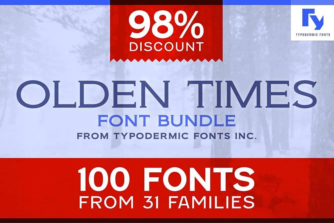 Download Olden Times font (typeface)