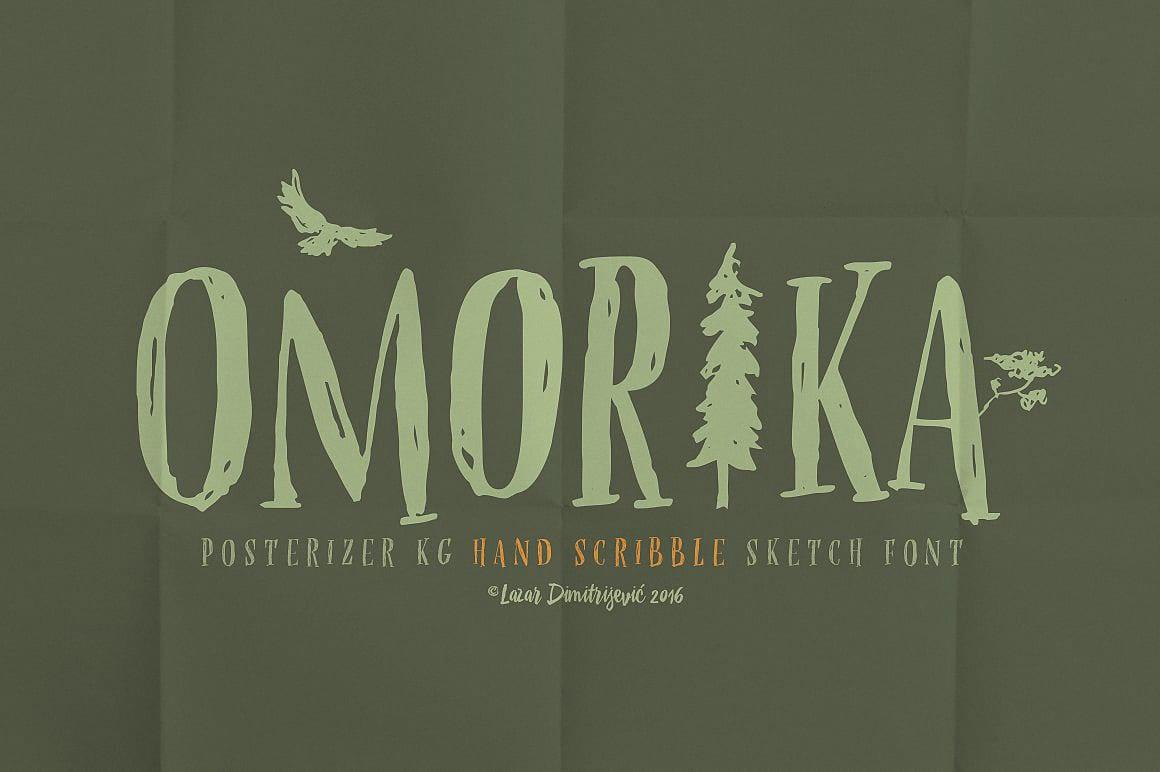Download OMORIKA font (typeface)