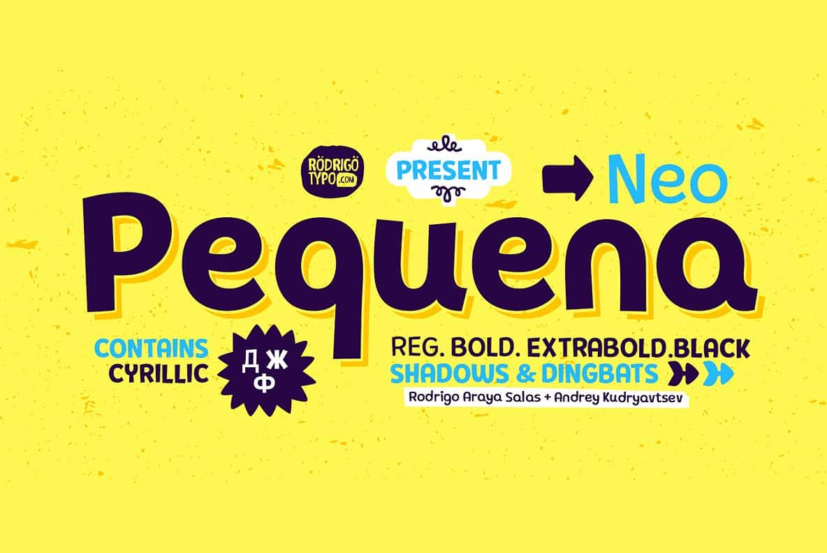 Download Pequena Neo font (typeface)