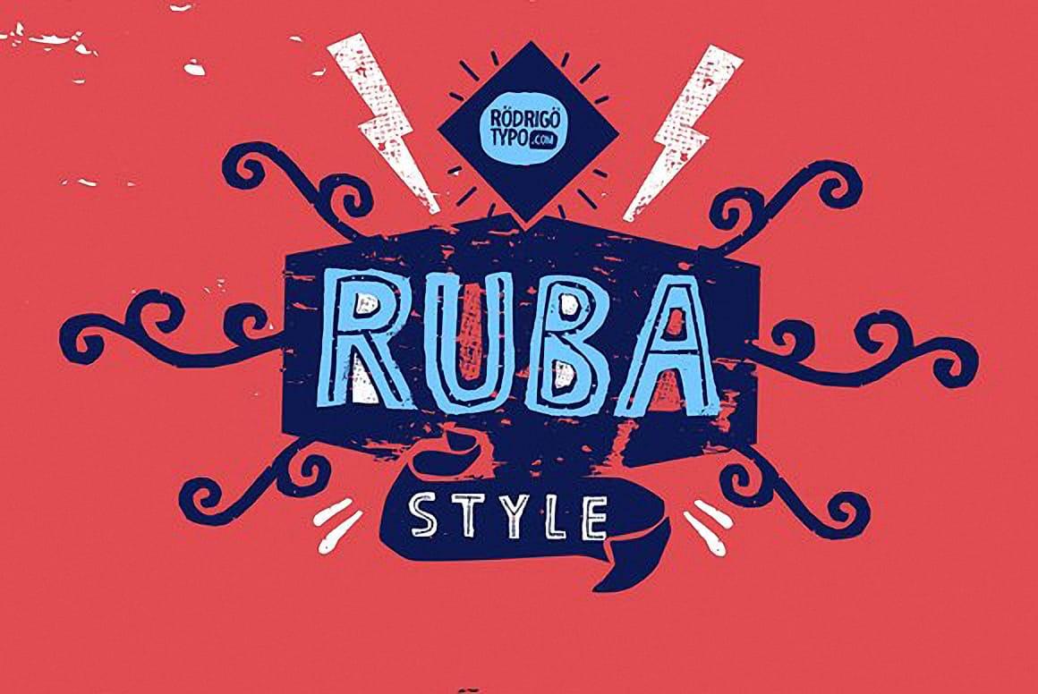Download Ruba Style (+Greek) font (typeface)