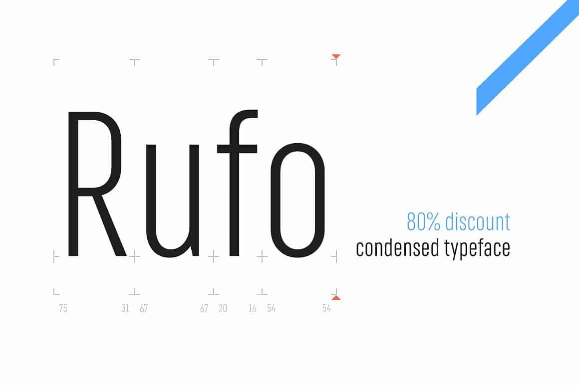 Download Rufo – Full pack font (typeface)