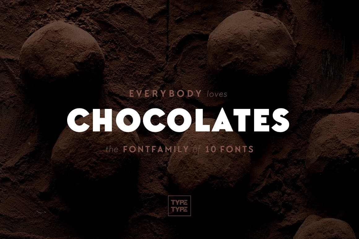 Download TT Chocolates font (typeface)