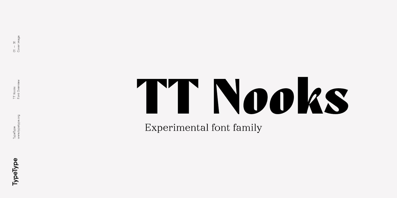 Download TT Nooks font (typeface)