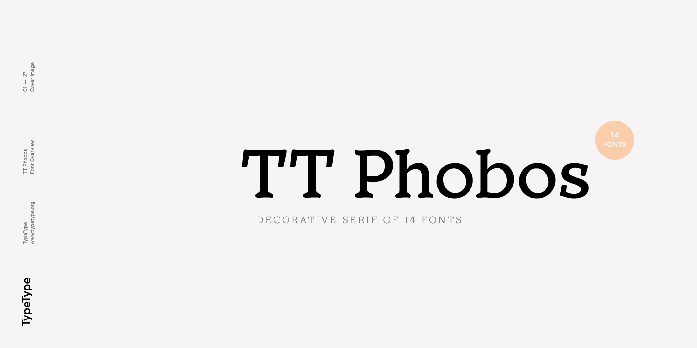 Download TT Phobos font (typeface)