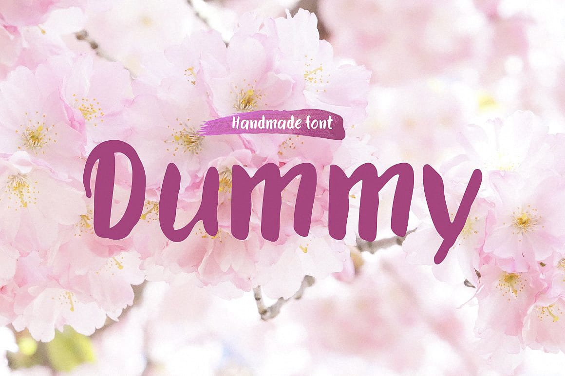 Download Dummy typeface font (typeface)