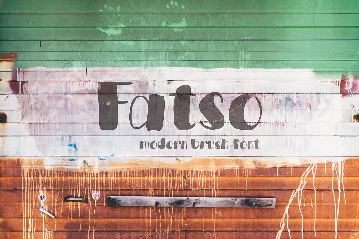 Download Fatso typeface font (typeface)