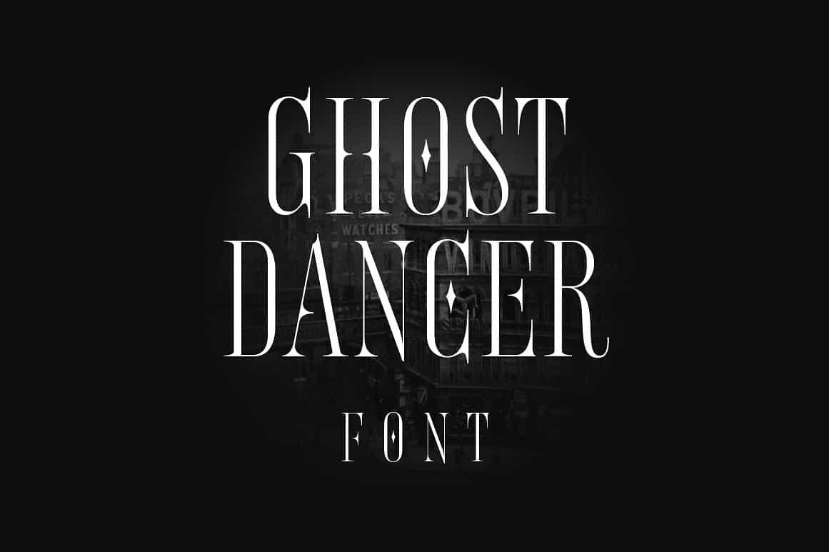 Download Ghost Dancer font (typeface)