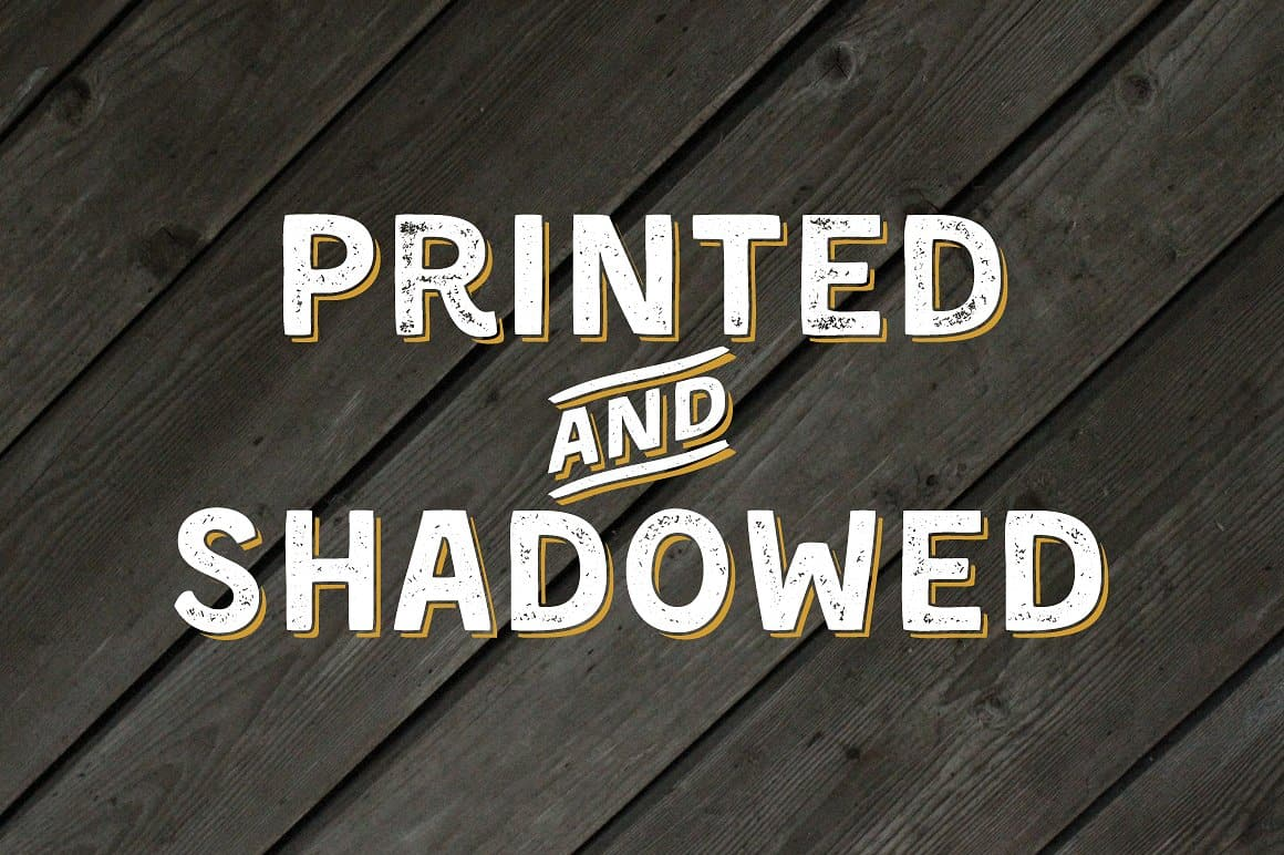 Download Kent 4F (Printed & Shadowed) font (typeface)