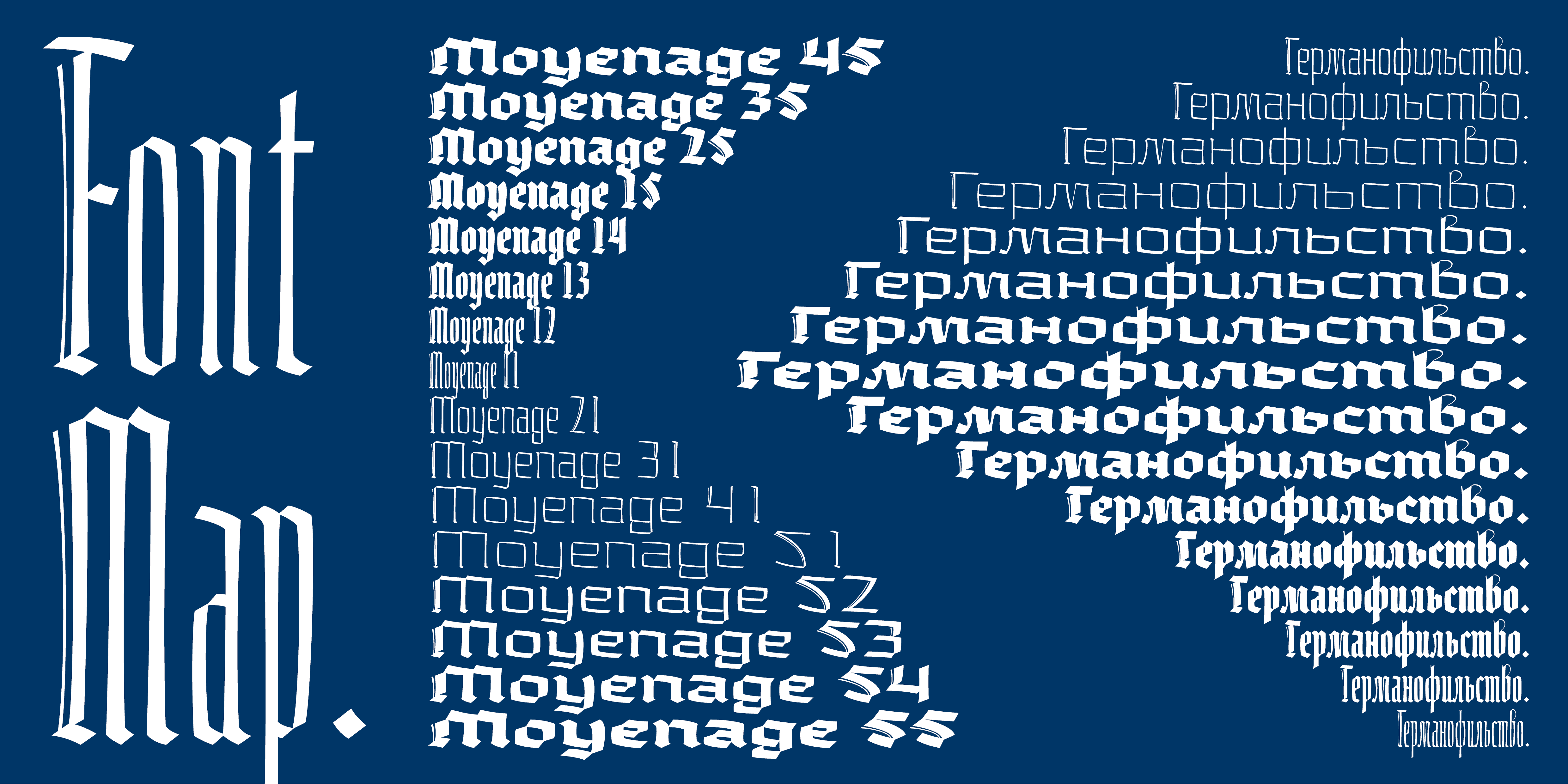 Download Moyenage font (typeface)