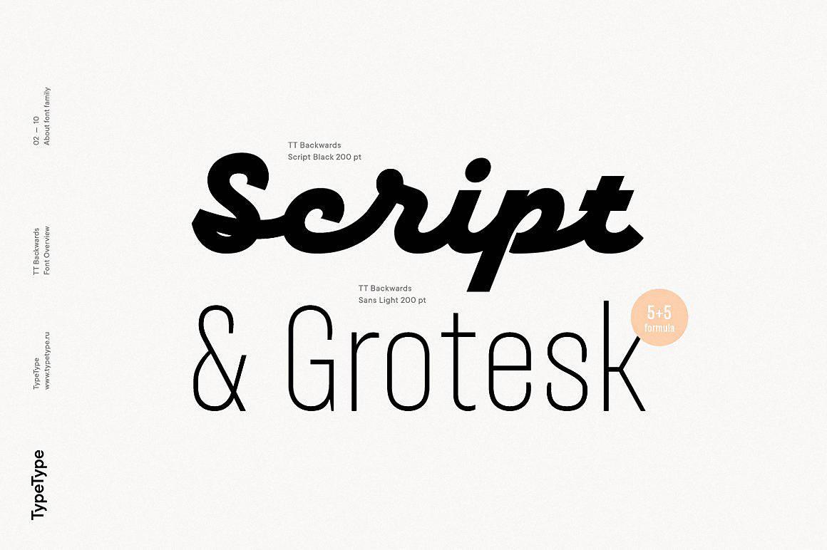 Download TT Backwards font (typeface)
