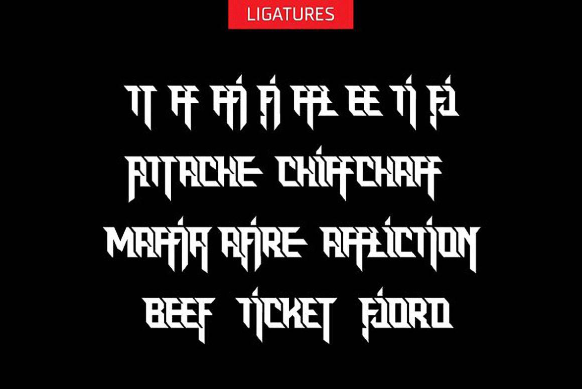 Download Rock Logo font (typeface)