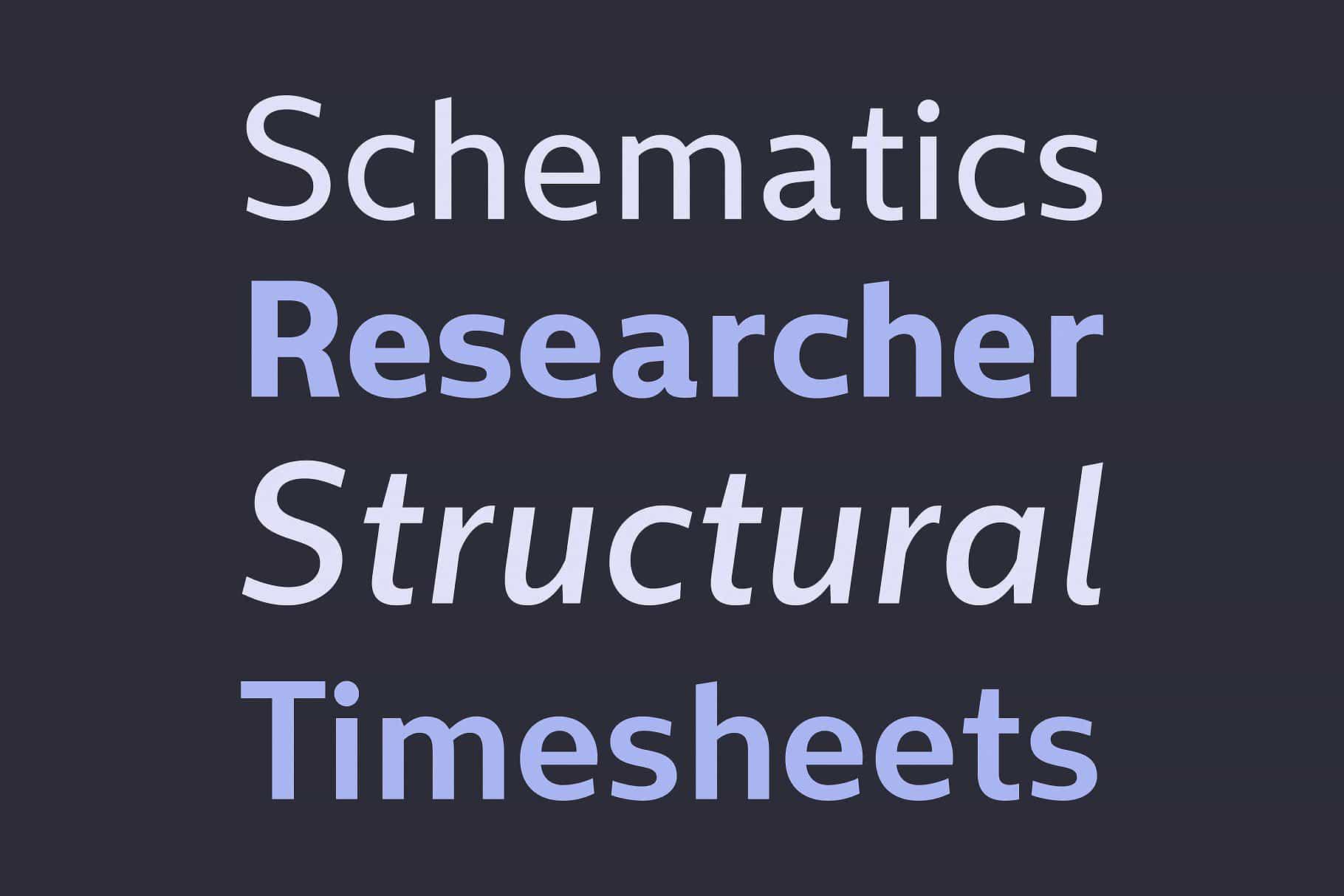 Download Sentral font (typeface)