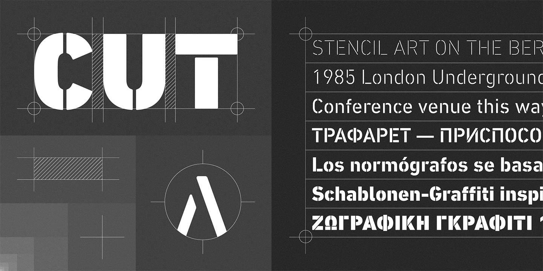 Download DIN Next Stencil font (typeface)