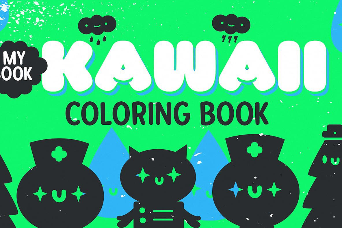 Download Kawaii RT font (typeface)