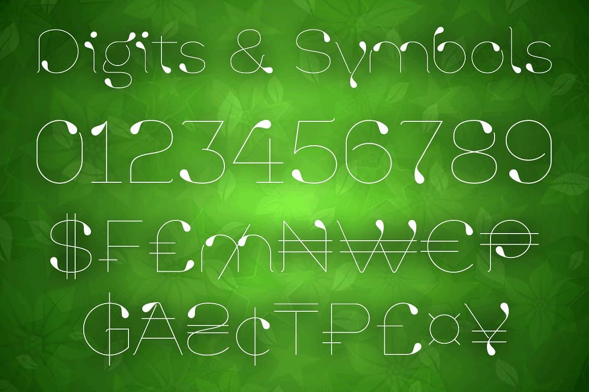 Download Lavina 4F font (typeface)