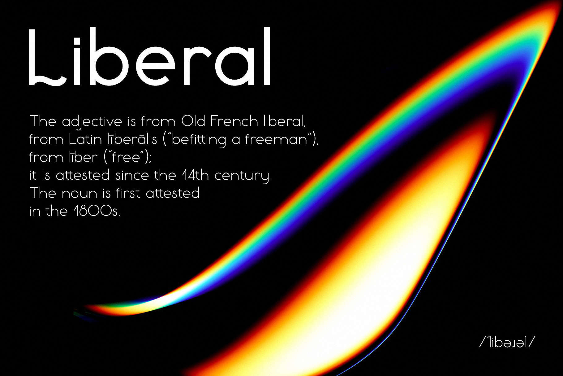 Download Liberal family font (typeface)