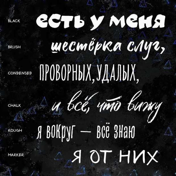 Download Six Hands font (typeface)