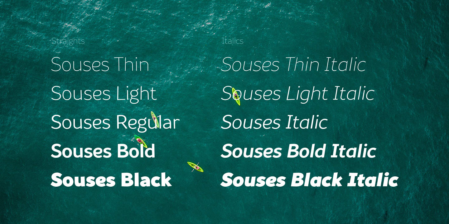Download Souses font (typeface)