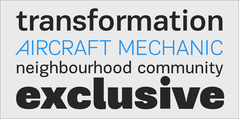 Download PF Encore Sans Pro font (typeface)