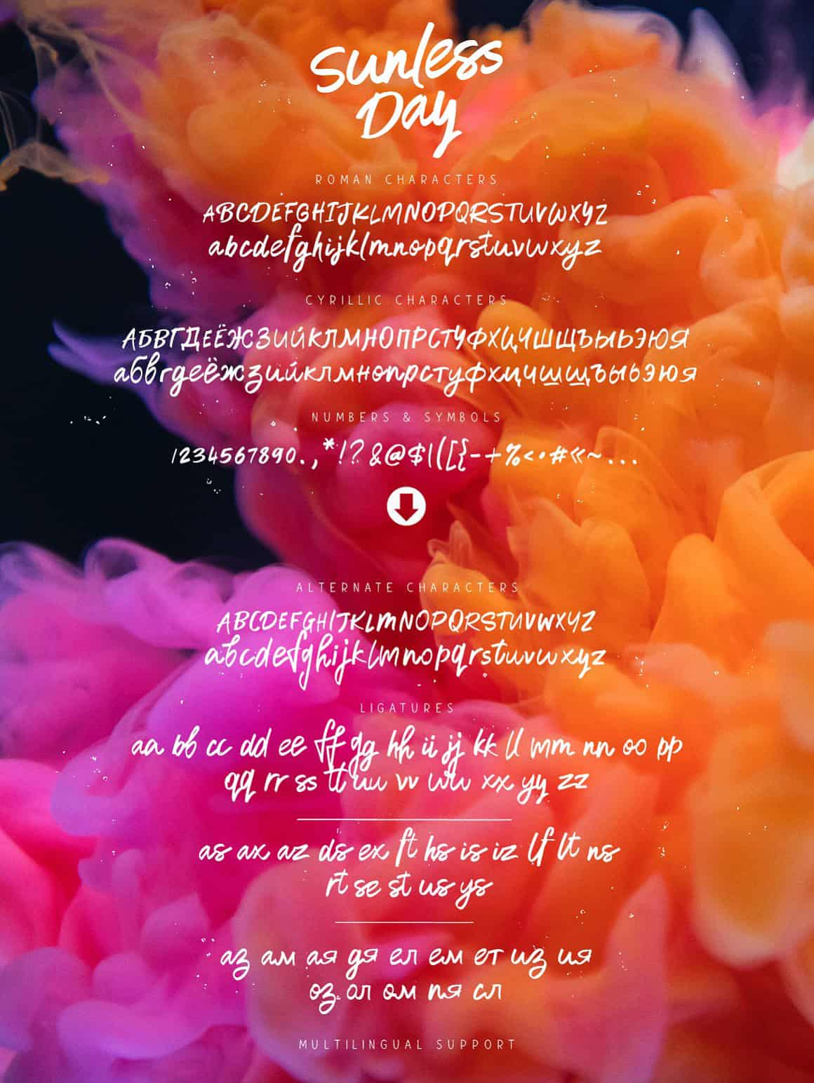 Download Sunless Day font (typeface)