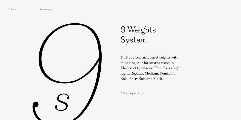 Download TT Pubs font (typeface)