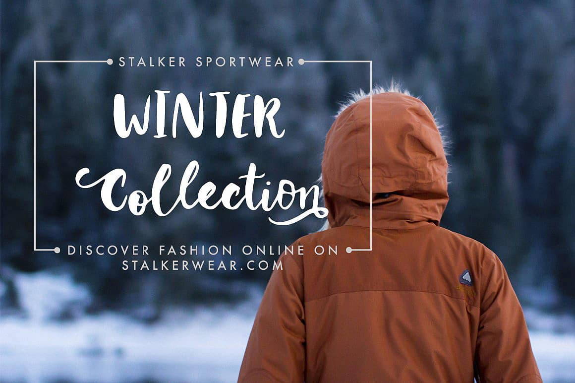 Download Winter Story font (typeface)