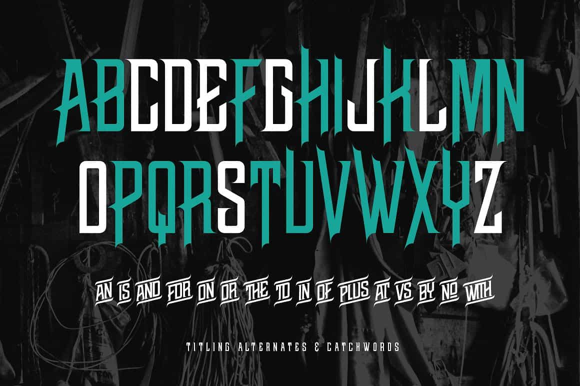 Download Cutout - bold uppercase font (typeface)