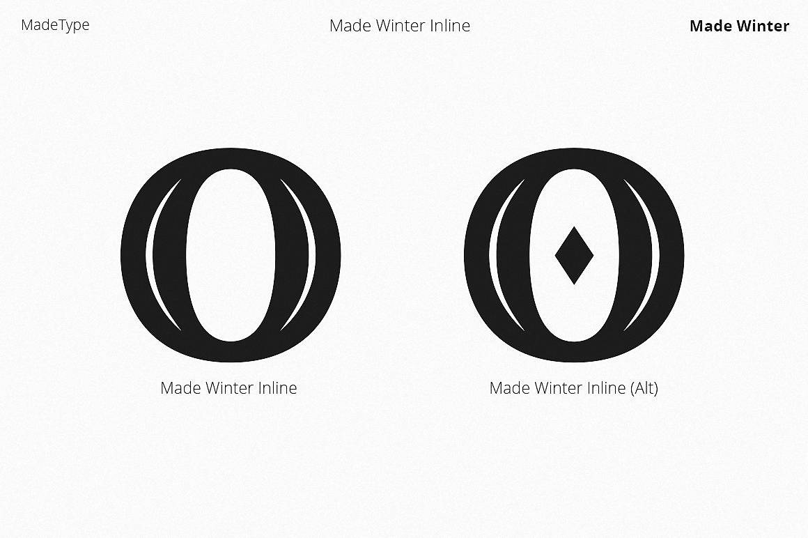 Download MADE Winter font (typeface)