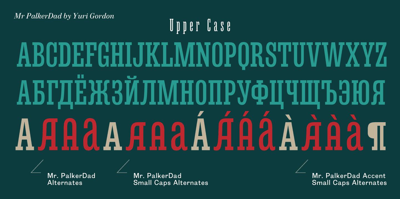 Download Mr Palker Dad font (typeface)