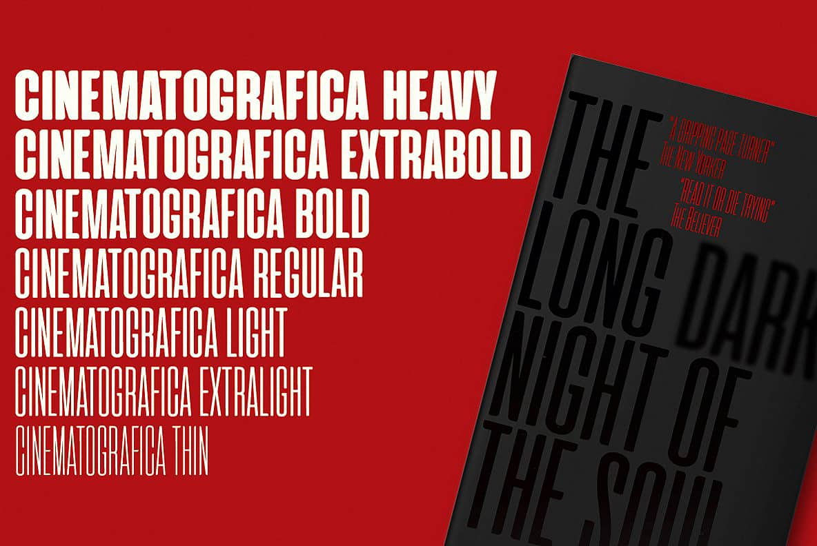 Download Cinematografica - Intro Offer font (typeface)