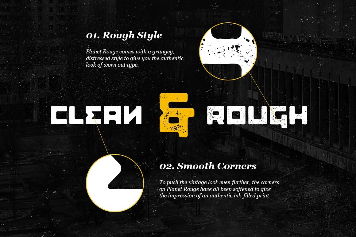 Download Planet Rouge Display font (typeface)