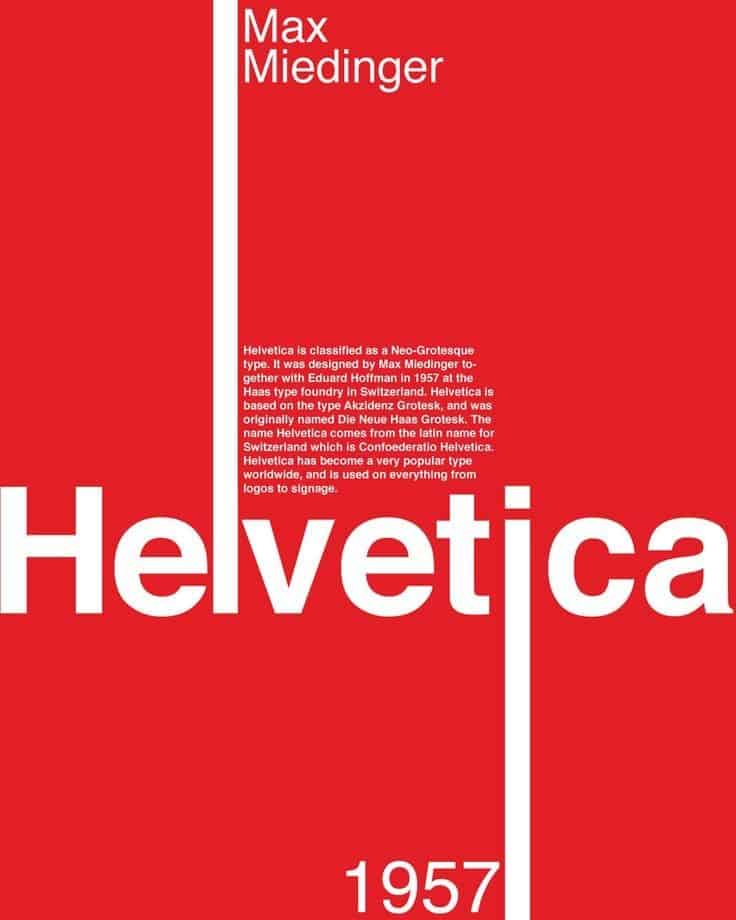 Download Helvetica [1957 - Max Miedinger] font (typeface)