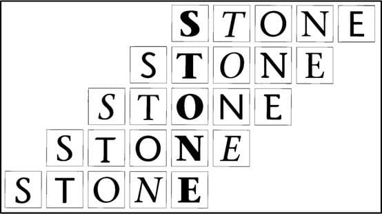 Download Stone [1987 - Summer Stone] font (typeface)