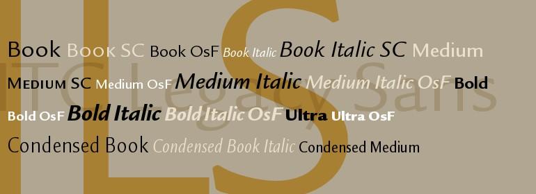 Download Legacy [1992 - Ronald Arnholm] font (typeface)