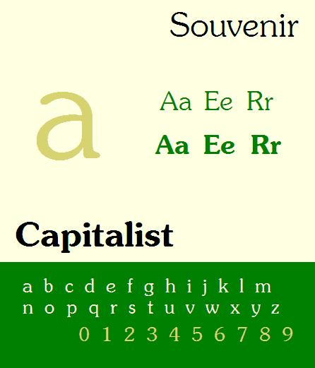 Download Souvenir [1914 - Morris Fuller Benton] font (typeface)