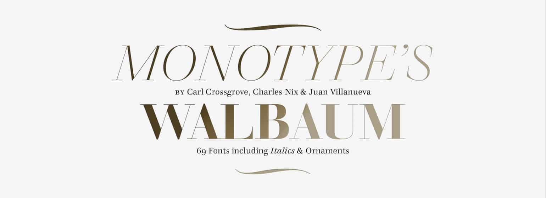 Download Walbaum     [1800 - Justus Walbaum] font (typeface)