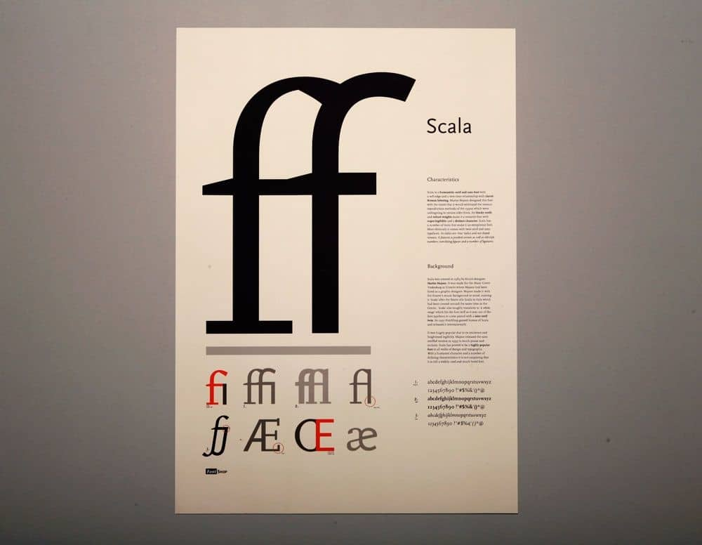 Download Scala [1991 - Martin Majoor] font (typeface)