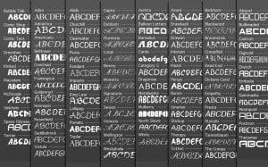 Download Corpid PS     [1997 - Lucas de Groot] font (typeface)