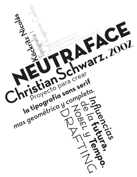 Download Neutraface     [2002 - Christian Schwartz] font (typeface)