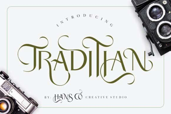 Download Traditian font (typeface)