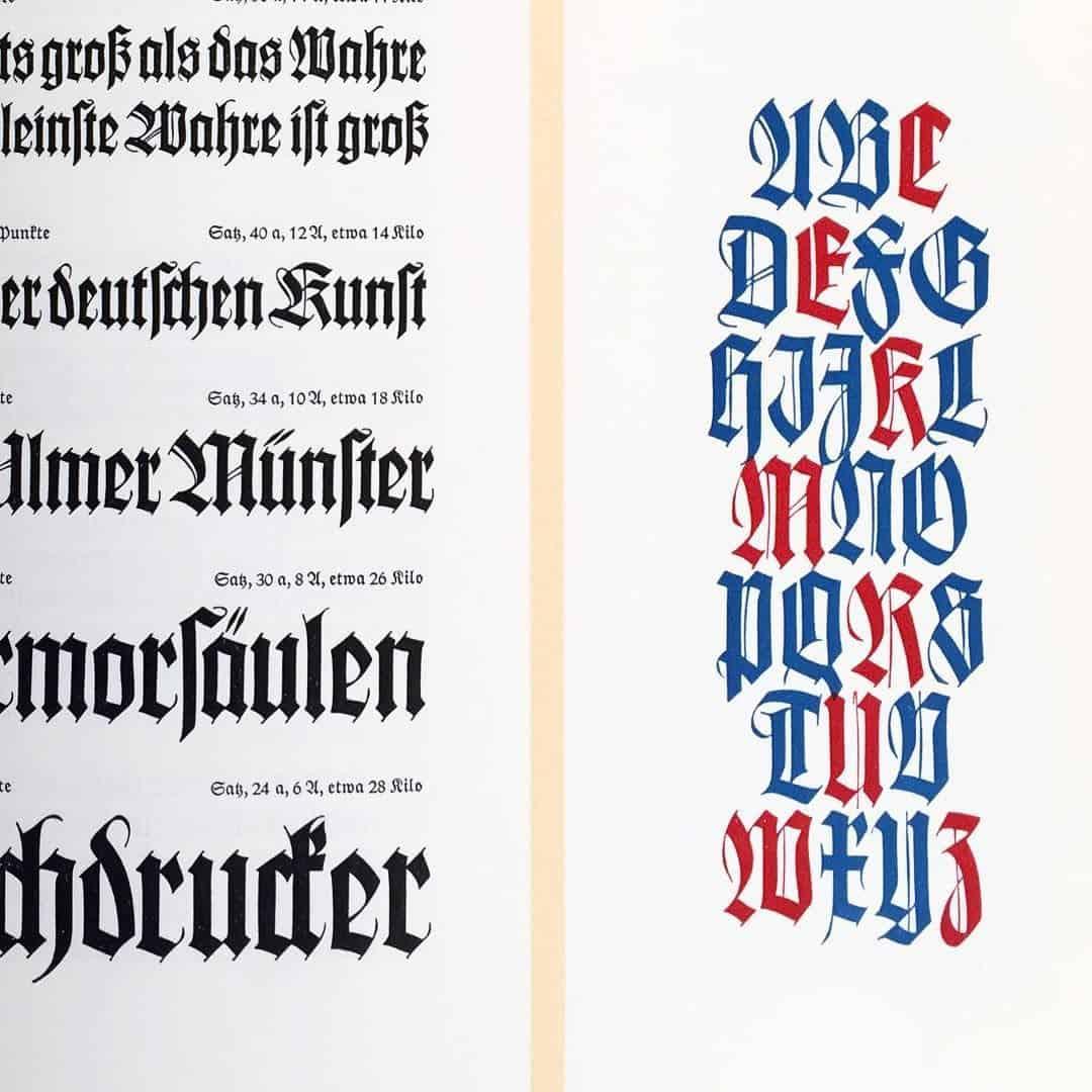 Download Wilhelm Klngspor Gotisch [1926 - Rudolf Koch] font (typeface)