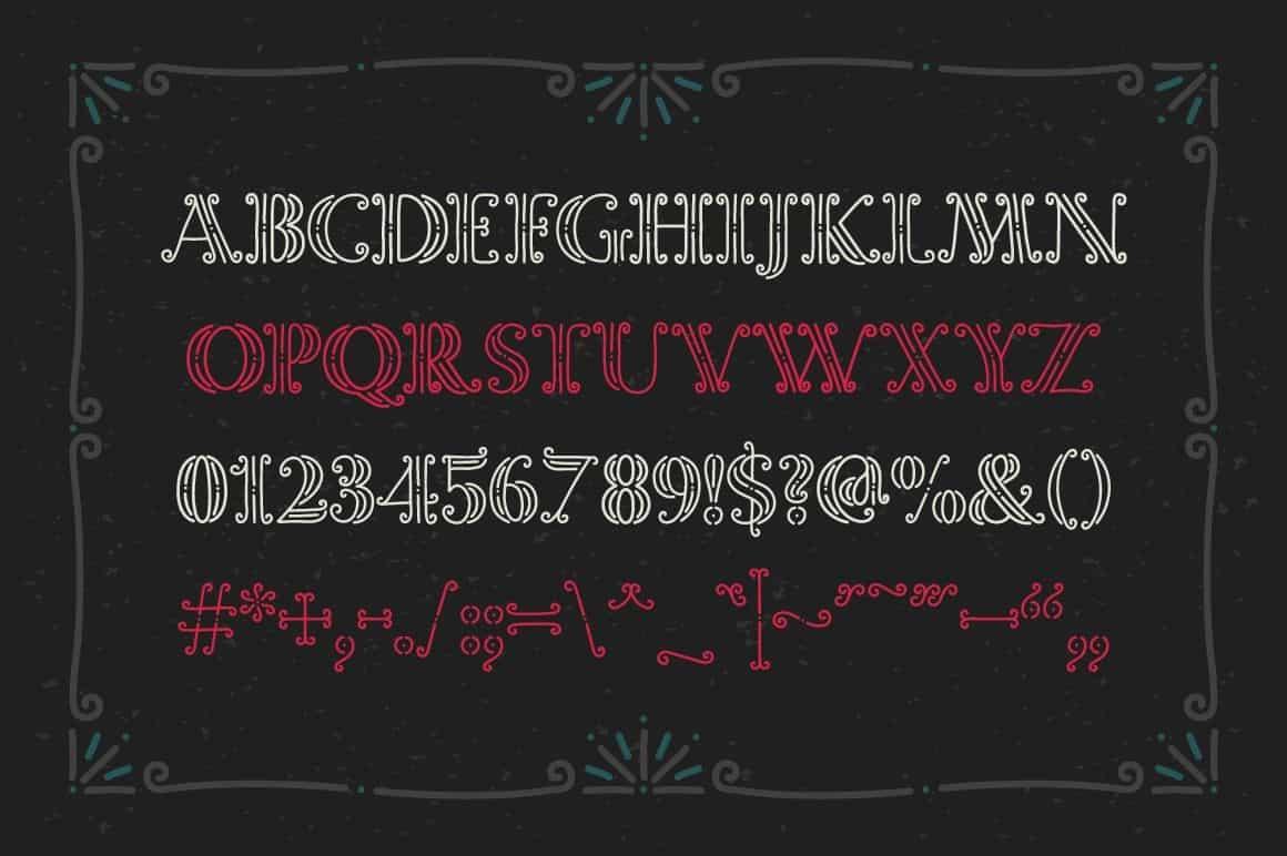 Download Magic Curls font (typeface)