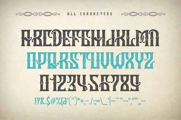 Download Marine Fairytale font (typeface)