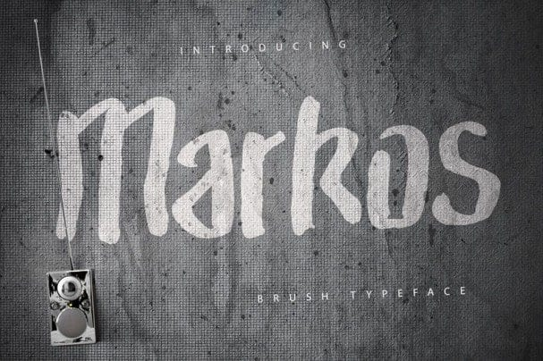 Download Markos font (typeface)