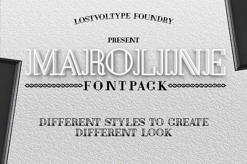 Download Maroline font (typeface)