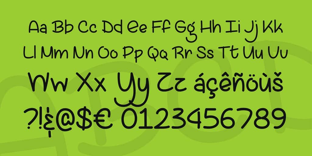 Download Lazy Spring Day font (typeface)